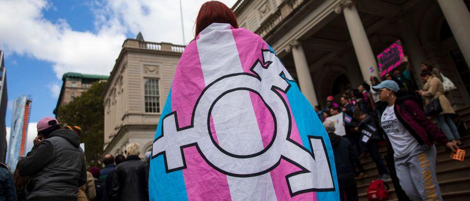 Rally Held In Support Of Transgender Community