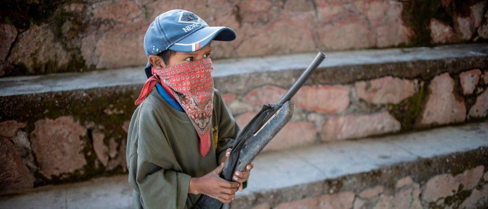 MEXICO-CRIME-VIOLENCE-SELF-DEFENCE-CHILDREN