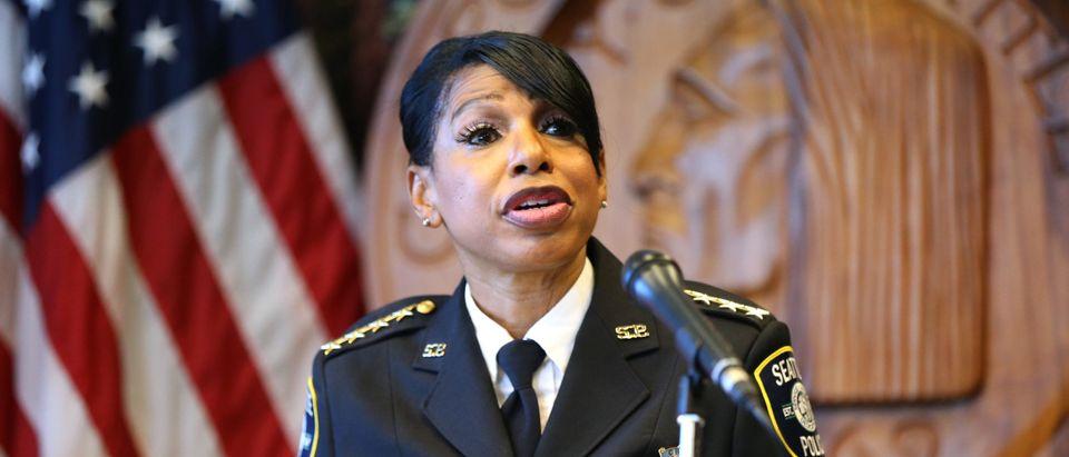 Seattle Police Chief Carmen Best Announces Resignation