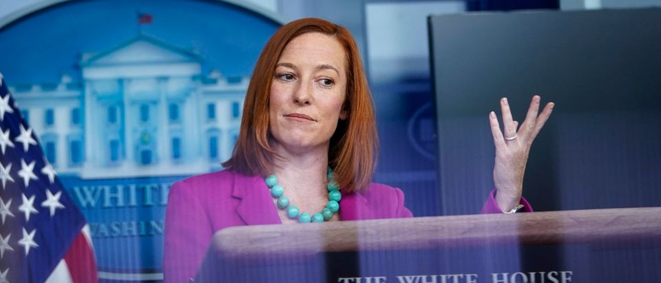 Press Secretary Jen Psaki Briefs Media At White House
