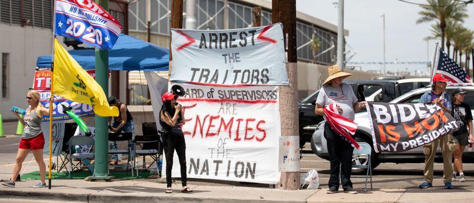 Arizona Recounts 2020 Presidential Election Ballots