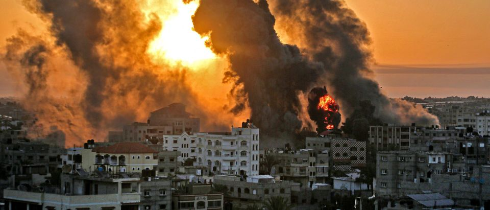TOPSHOT-PALESTNIAN-ISRAEL-CONFLICT-GAZA
