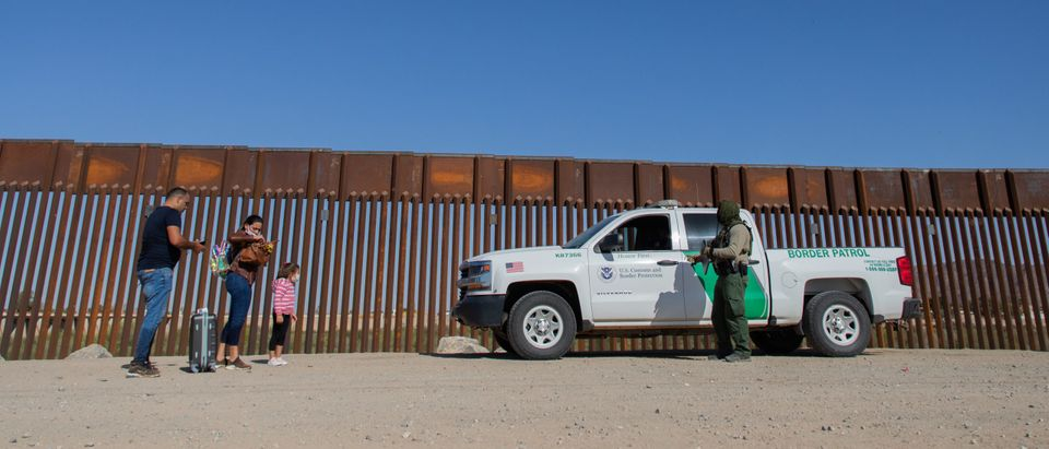 Migrants Continue To Cross Southern Border As Biden Administration Grapples With Surge