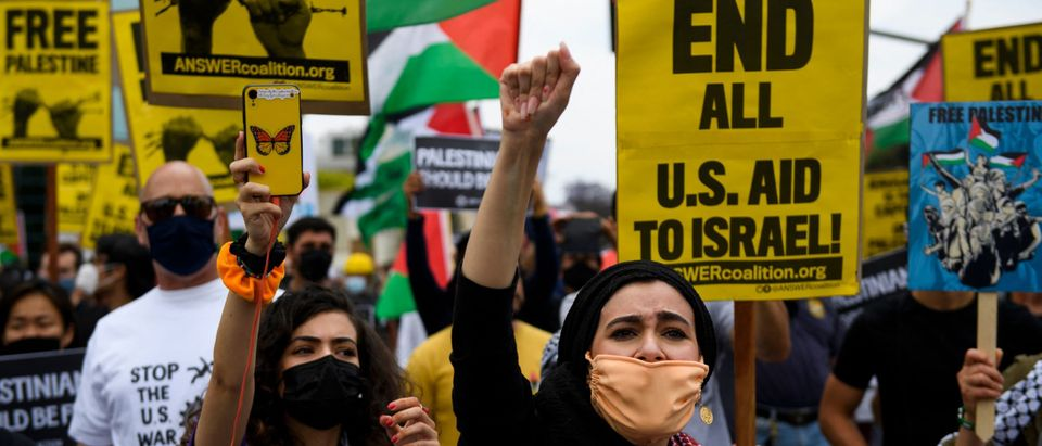 US-ISRAEL-PALESTINIANS-CONFLICT-PROTEST-DEMONSTRATION
