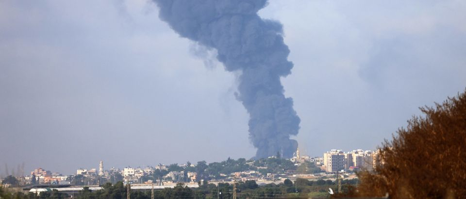 ISRAEL-PALESTINIAN-CONFLICT-FIRE