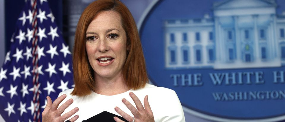 Press Secretary Psaki Is Joined By Agriculture Secretary Vilsack At Daily Media Briefing