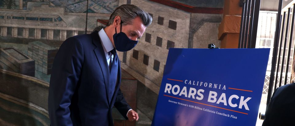 California Governor Newsom Unveils His Economic Recovery Package For The State