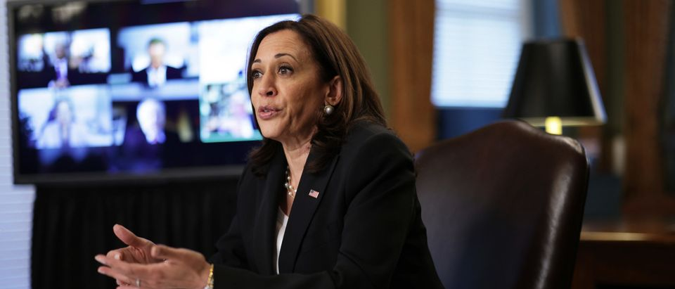 Vice President Harris Meets With CEO's To Discuss Northern Triangle