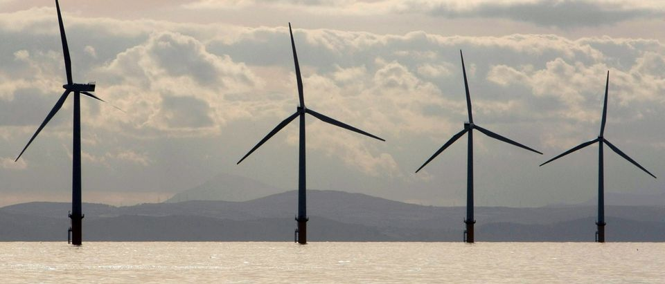 Launch Of The Burbo Bank Wind Farm