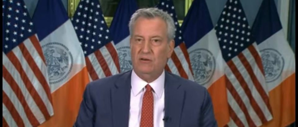 Bill de Blasio announces that NYC schools will reopen in September