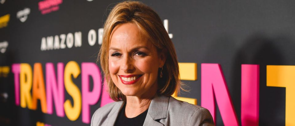 """LOS ANGELES, CALIFORNIA - SEPTEMBER 13: Melora Hardin attends the LA premiere of Amazon's """"Transparent Musicale Finale"""" at Regal LA Live on September 13, 2019 in Los Angeles, California. (Photo by Matt Winkelmeyer/Getty Images)"""