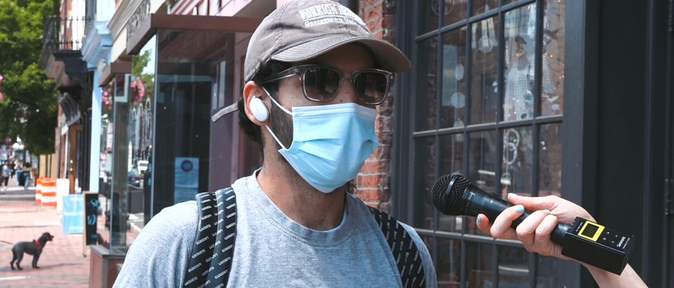 Why Are People Still Wearing Masks Outside?