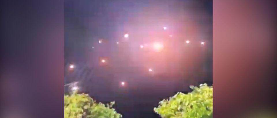 Video Of Iron Dome Interceptions