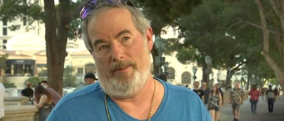 Paul Lebowitz was allegedly pushed to the ground in an anti-Semitic attack in Las Vegas[Twitter:Screenshot:Fox 5 Las Vegas]