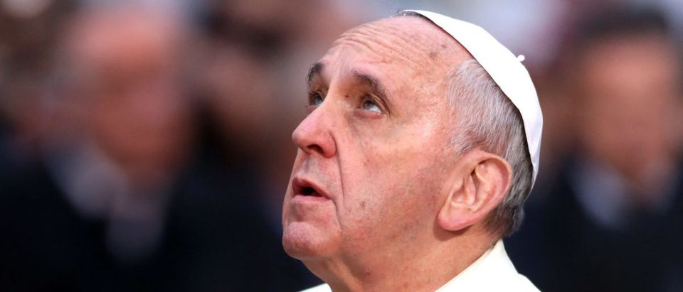 Pope Francis Celebrates Immaculate Conception at Spanish Steps