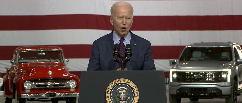 President Joe Biden. (Screenshot/YouTube/WashintonPost)