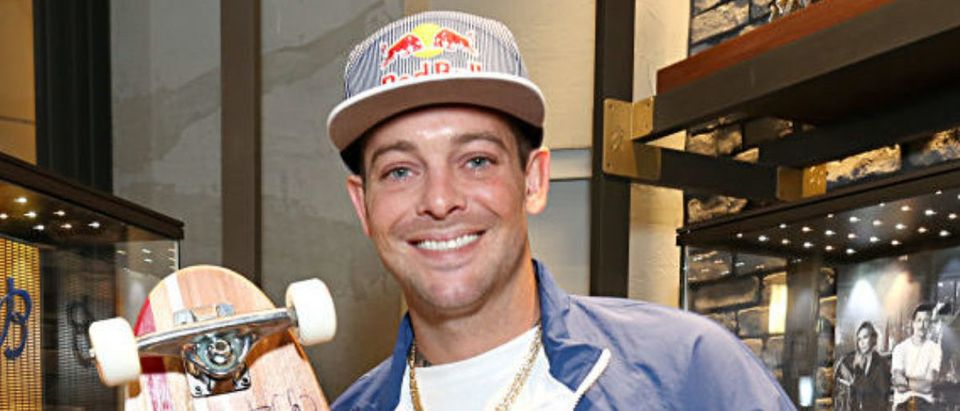SAN DIEGO, CALIFORNIA - FEBRUARY 05: Professional skateboarder Ryan Sheckler attends the Breitling Boutique San Diego grand opening celebration on February 05, 2020. (Photo by Phillip Faraone/Getty Images for Breitling)