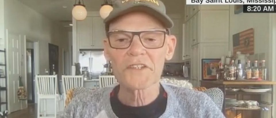 James Carville speaks with Michael Smerconish. Screenshot/CNN