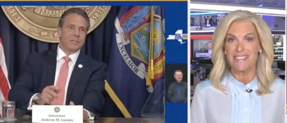 "Janice Dean appears on ""The Faulkner Focus."" Screenshot/Fox News"