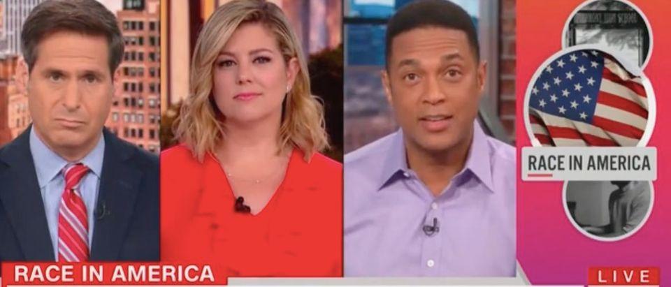 "John Berman, Brianna Keilar and Don Lemon appear on ""New Day."" Screenshot/CNN"