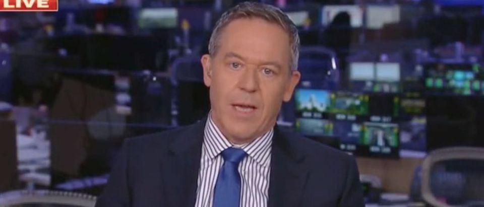 "Greg Gutfeld appears on ""The Five."" Screenshot/Fox News"