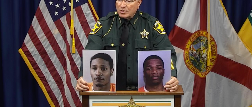 Polk County Sheriff's Office Grady Judd speaks about a shooting incident [Facebook/Screenshot/Polk County Sheriff's Office]