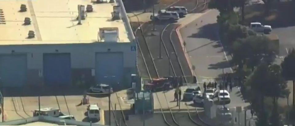 Rail Yard Where San Jose Shooting Occurred