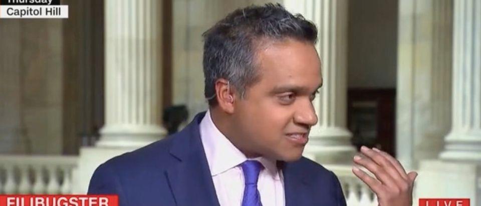 "Manu Raju appears on ""New Day."" Screenshot/CNN"