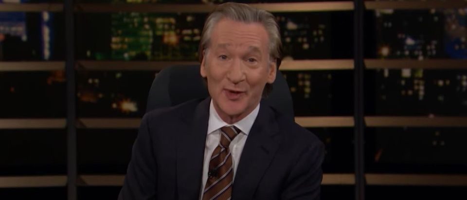 Screenshot from Real Time with Bill Maher