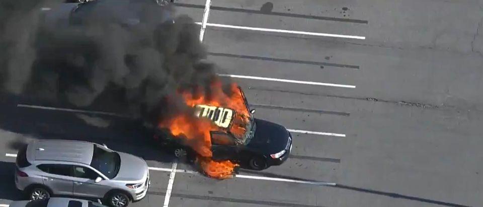 Maryland Car Fire