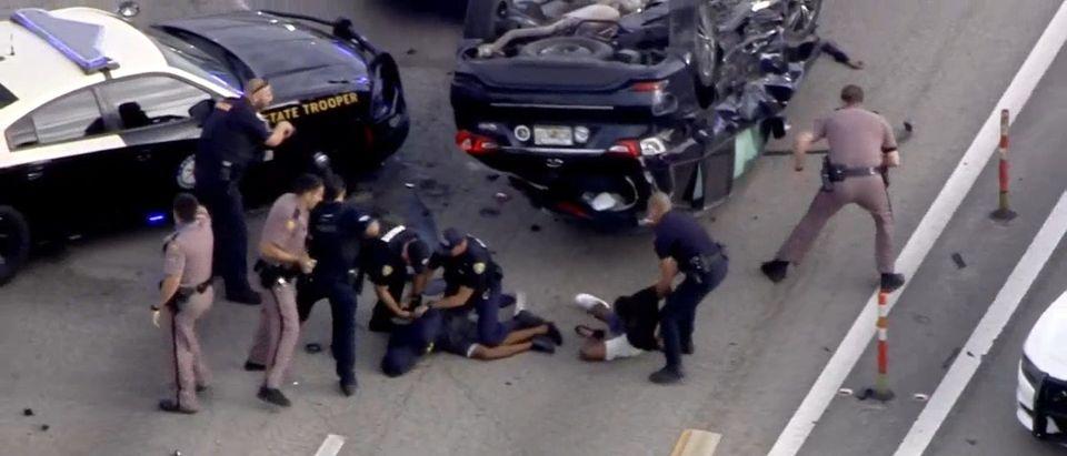 The car crash near Pembroke Road