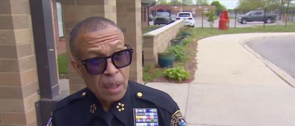 """Detroit Police Chief James Craig talks to Fox News about his upcoming retirement and future plans, on """"Fox & Friends,"""" May 13, 2021. Fox News screenshot"""