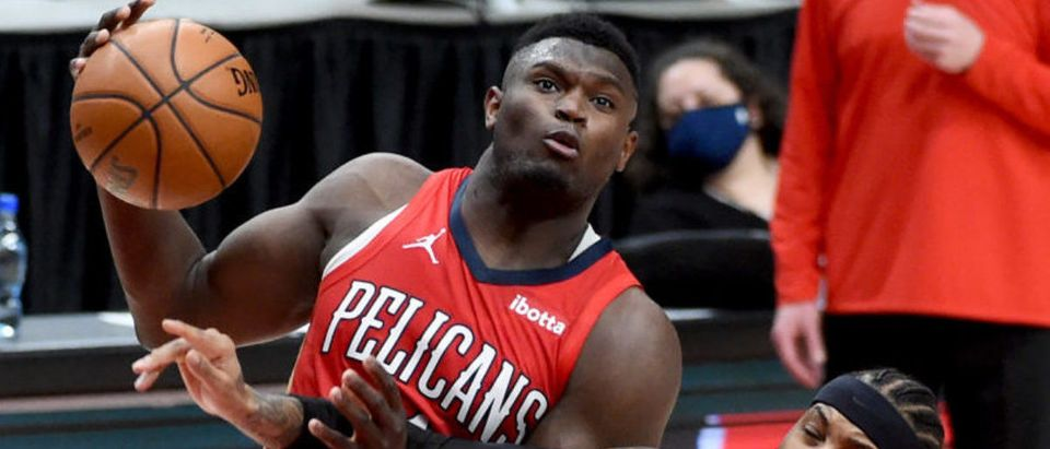 Zion Williamson (Photo by Steve Dykes/Getty Images)