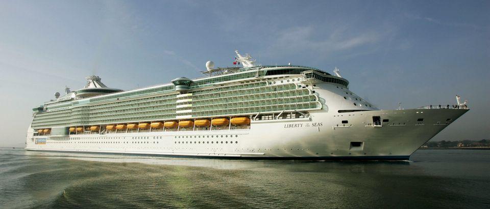 Worlds Largest Cruise Ship Docks In Southampton