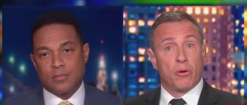 Don Lemon and Chris Cuomo got into an argument over Rick Santorum's comments and subsequent interview. (Screenshot CNN)