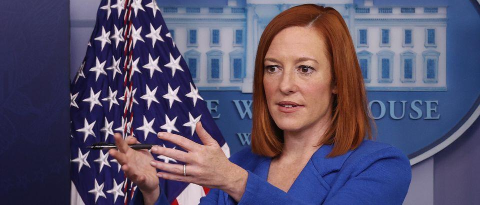 Press Secretary Jen Psaki Holds Briefing At The White House