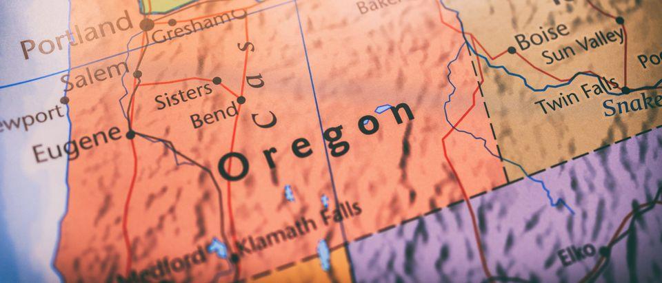 Oregon map [Shutterstock]