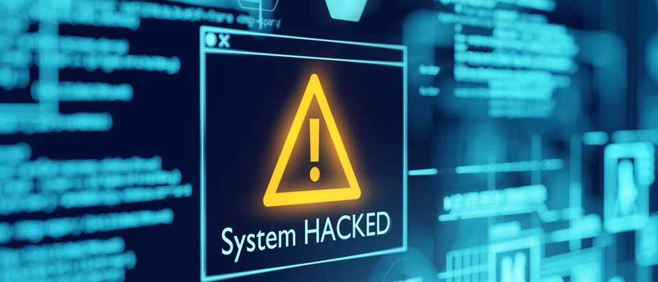 A computer is hacked [Shutterstock]
