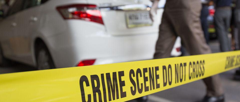 Crime scene vehicle [Shutterstock]