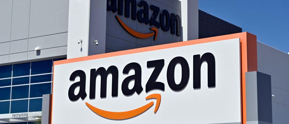 Amazon Sign Getty