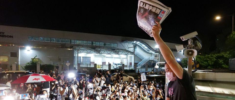 Apple Daily Journalist Getty