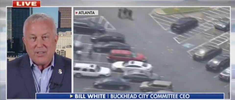 Buckhead City Committee CEO Bill White talks on Fox News [Screenshot:Fox News]