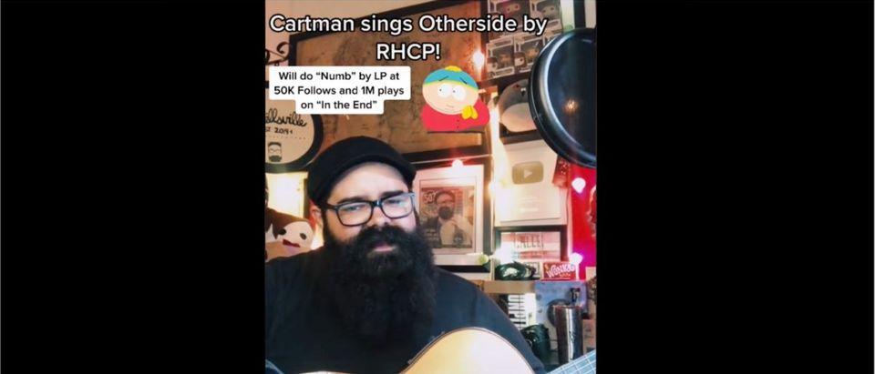 Cartman Songs (Credit: Screenshot/TikTok https://www.tiktok.com/@fernandoufret/video/6968604523971611909)