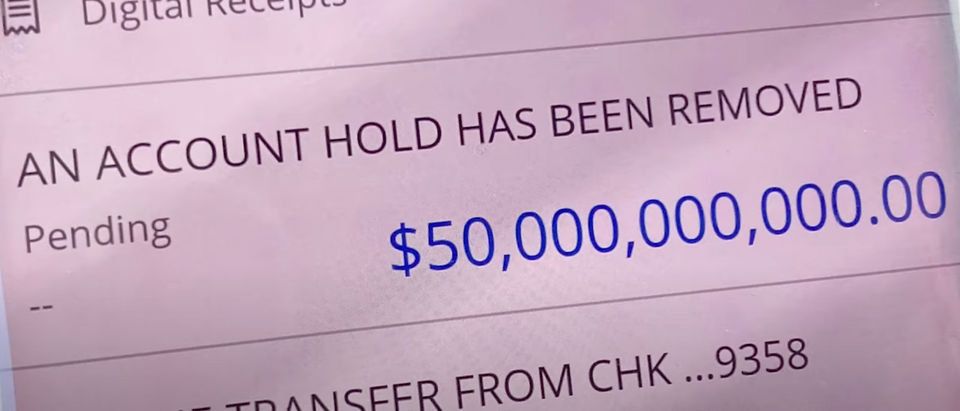 Family Says Chase Bank Despited $50 Billion Into Their Account