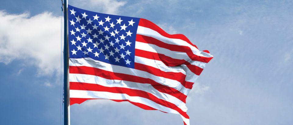 American Flag (Credit: Shutterstock/phloxii)