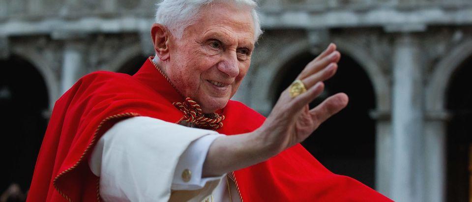 Pope Benedict XVI Visits Venice - Day 1