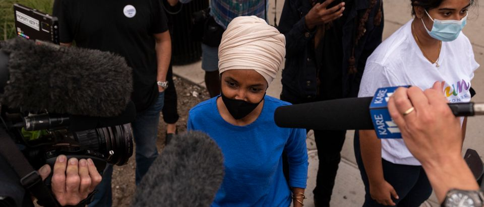 Rep. Ilhan Omar Tries To Fend Off Challenger Antone Melton-Meaux In Reelection Bid