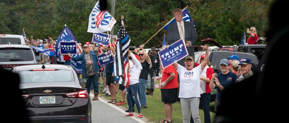 Democratic Presidential Nominee Joe Biden Campaigns In Georgia