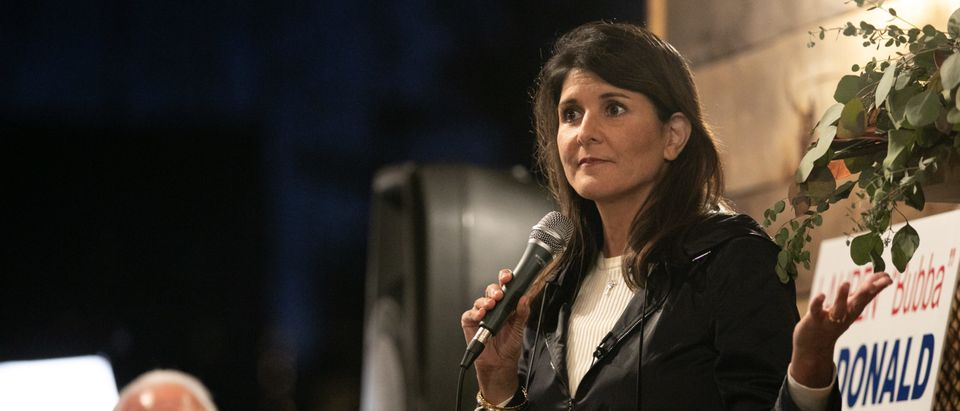 Republican Georgia Senate Candidates Perdue And Loeffler Campaign For Runoff Election