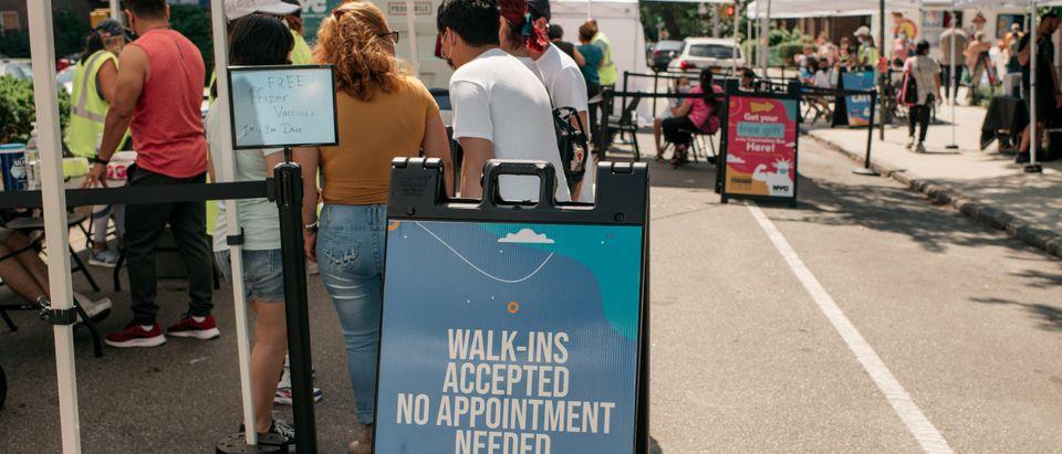 Youth Vaccination Block Party Held In Queens Neighborhood